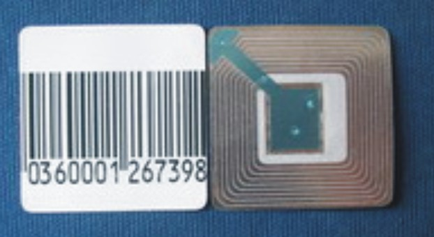 RF Label (3x3) Dummy Barcoded