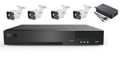 4 AHD IR Bullet Camera System with 8ch HD DVR Unit