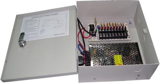 16ch Camera Power Supply 12V dc 20A
