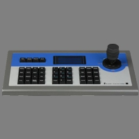 3D Joystick Dome and DVR Control Keyboard