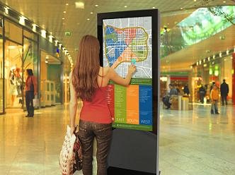 "46"" Freestanding Multi Touch Screen Display"