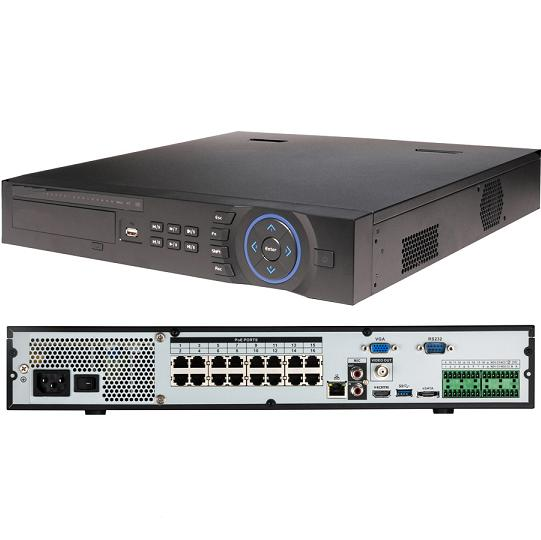 Xus 16ch 5 Megapixel IP Network Video Recorder inc PoE