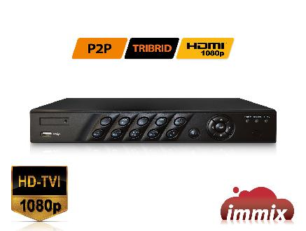 4ch HD TVI High Definition 1080P Real Time Digital Recorder