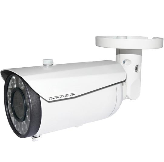 Licence Plate ANPR Infra-Red IP Camera Varifocal Lens