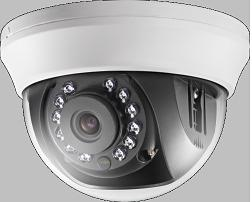 HD TVI Internal High Definition Colour Infra-Red Dome - Fixed