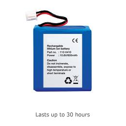 Rechargable Battery for Forged Banknote Detector 155 -165
