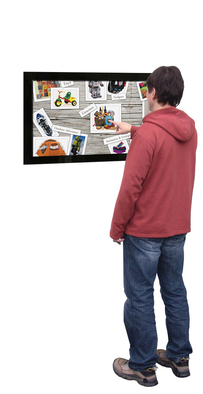 "32"" Wall Multi Touch Screen Display"
