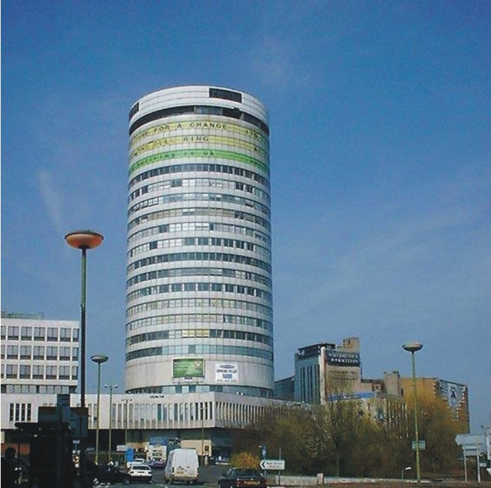 Rotunda Apartment to Rent in Birmingham City Centre