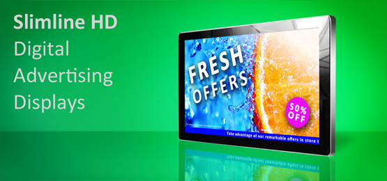 "42"" Network Digital Advertising Display"